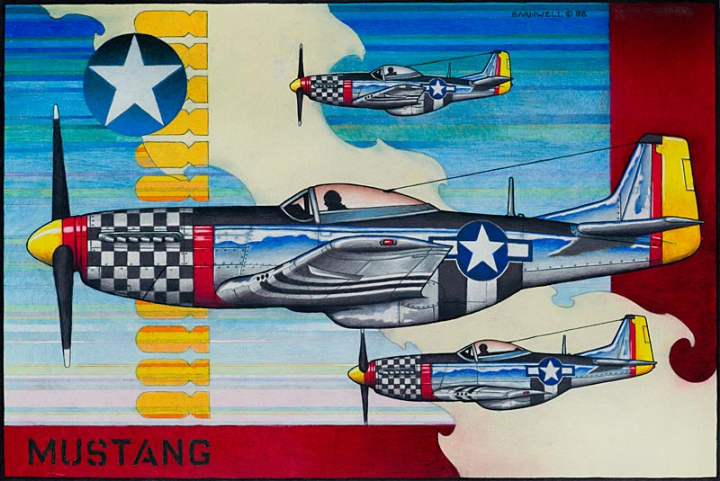 Mustang by Stephen Barnwell